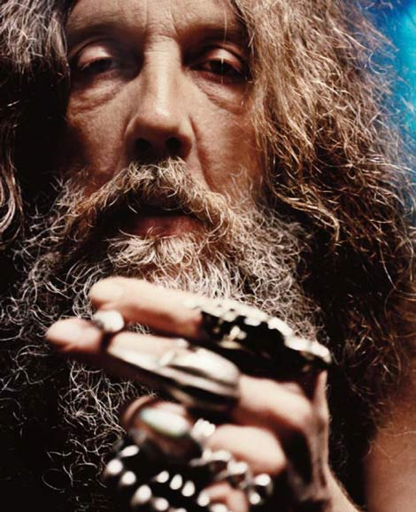 Alan Moore Smoking