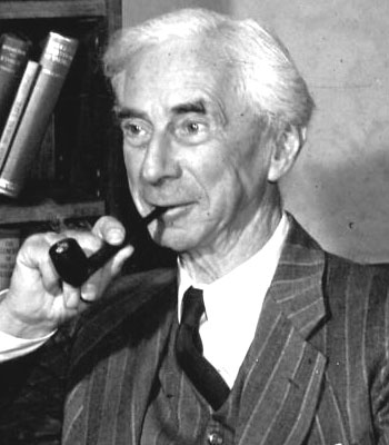 Bertrand Russell Smoking