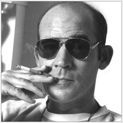 Hunter S. Thompson Smoking