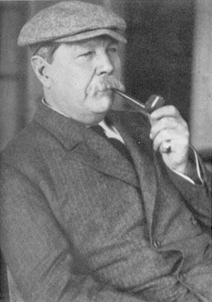 Sir Arthur Conan Doyle Smoking