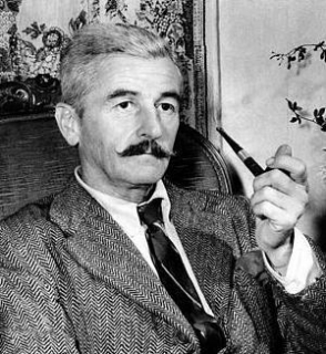William Faulkner Smoking