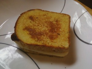 Paleo Bread Grilled Cheese