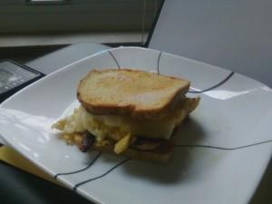 Paleo Bread Egg Sandwich