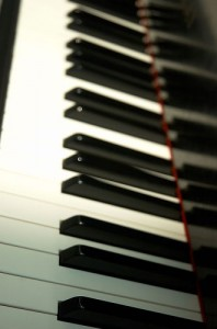 A piano's keys are also black and white. Conspiracy!