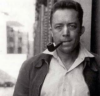 Albert Camus Smoking