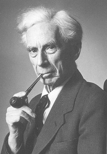 Bertrand Russell Smoking