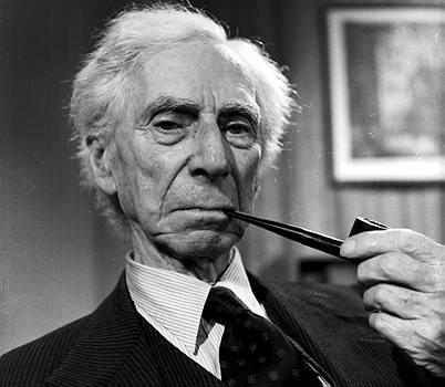 Bertrand Russell Smoking 4