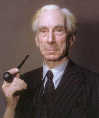 Bertrand Russell Smoking 5