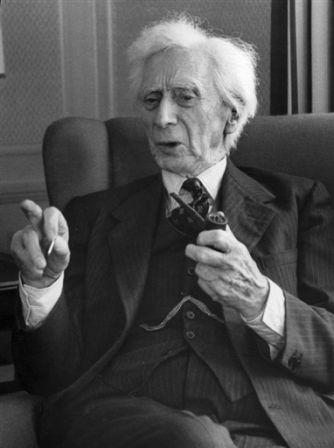 Bertrand Russell Smoking 6