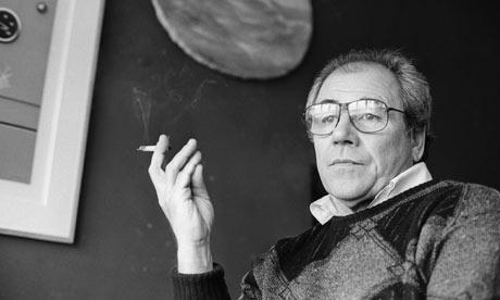 Jean Baudrill Smoking