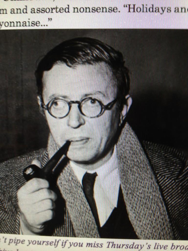 Jean-Paul Sartre Smoking