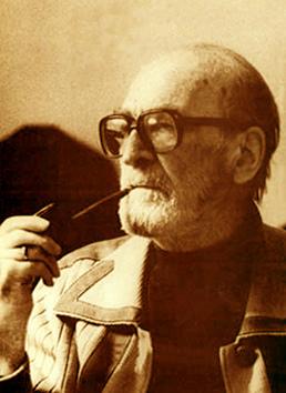 Mircea Eliade Smoking