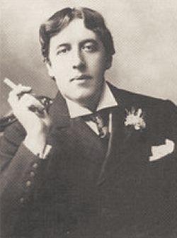 Oscar Wilde Smoking