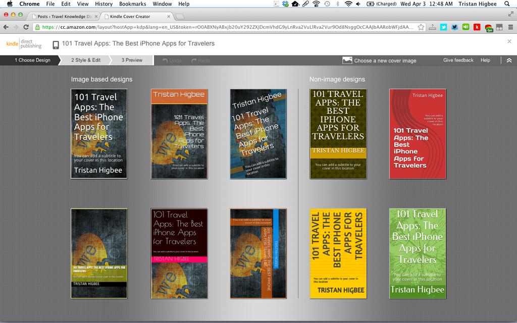 Book Cover Design App : Amazon s new book cover maker might invoke my gag reflex