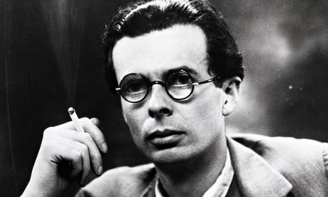 Aldous Huxley smoking
