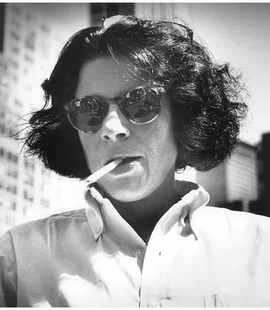 Fran Lebowitz smoking