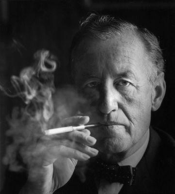 Ian Fleming smoking