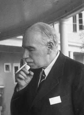 John Maynard Keynes smoking