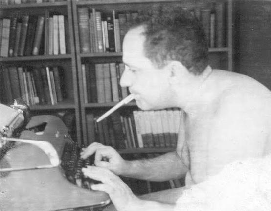 Murray Rothbard smoking