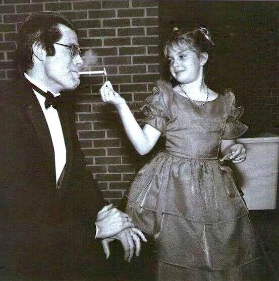 Stephen King smoking