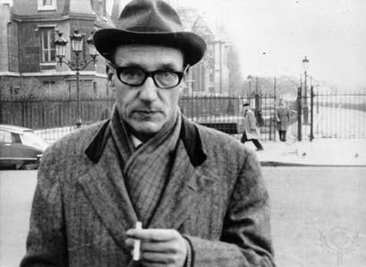 William S Burroughs smoking
