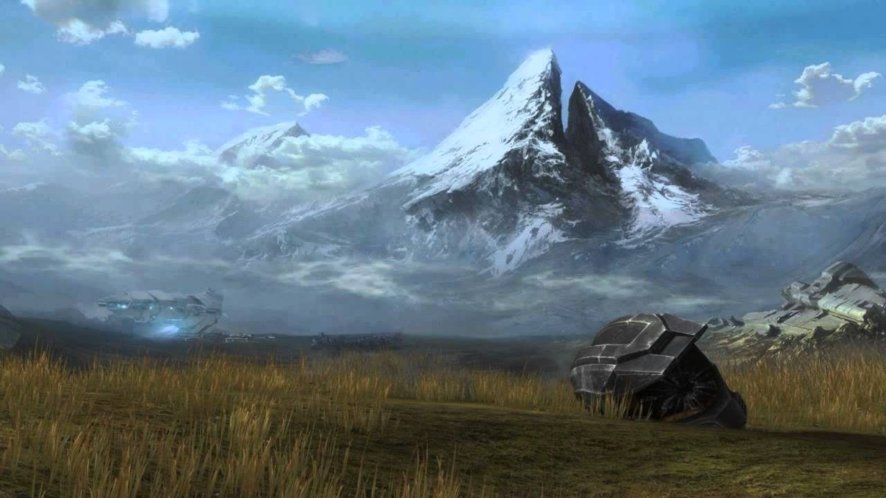 Halo: Reach - mountain
